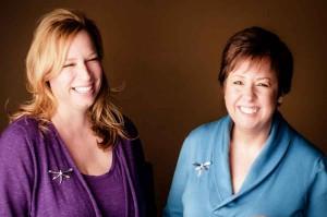 Photo of Christine Neitzke & Ria Davidson, Co-Founders of The Dragonfly Foundation