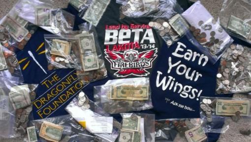 Beta Club Hosts Coin Drive!