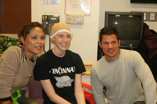 SW, Nick Lachey and Vanessa Lachey