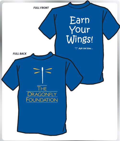 """Earn Your Wings"" Volunteer T-shirts"