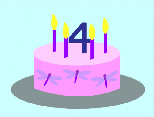 Cake for 4th birthday