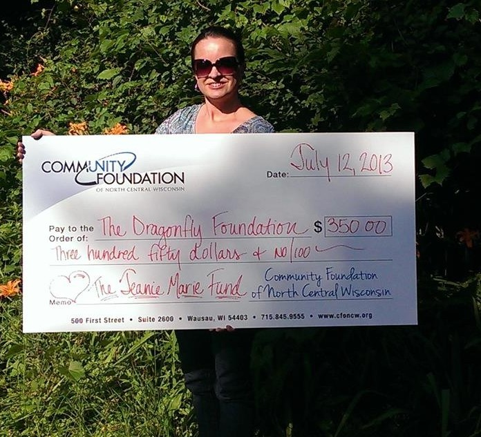 Community Foundation & Jeanie Marie Fund Donation