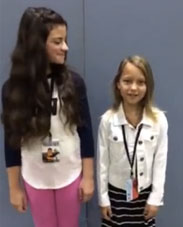 "Livvy Stubenrauch & Eva Bella From ""Frozen"""