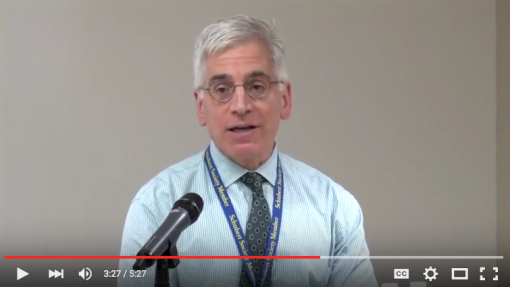 Video: News Conference with Dr. Perentesis