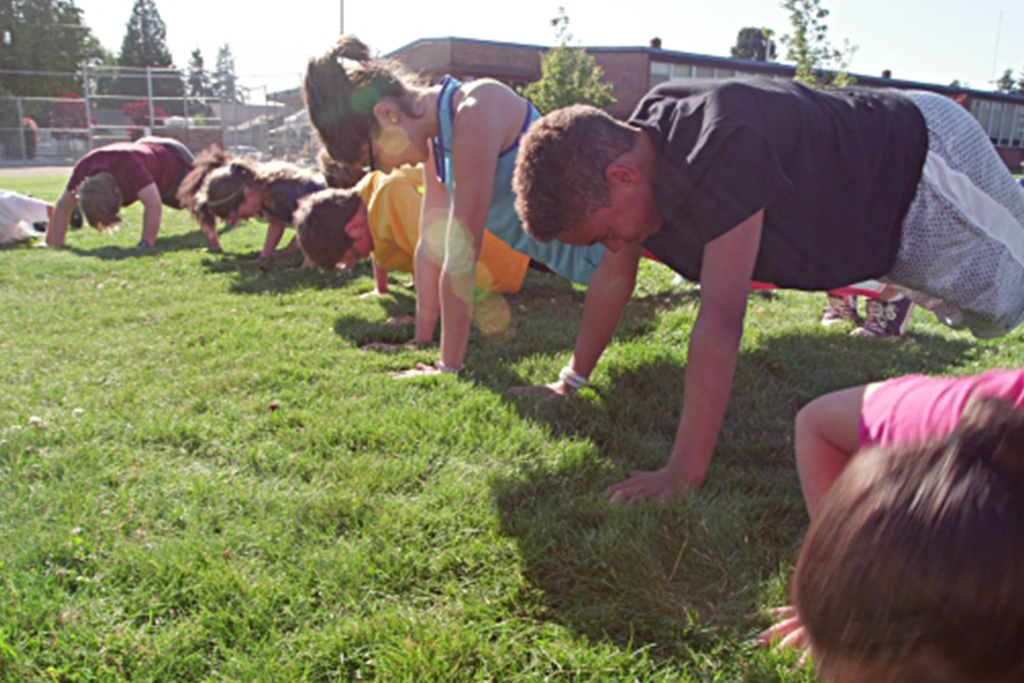 Push Ups For Patients