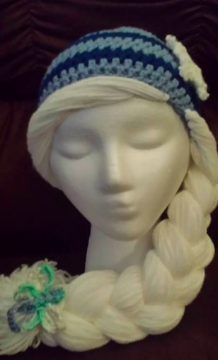 Elsa Hat Design from the Magic Yarn Project