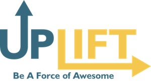 Camp Uplift: Be A Force of Awesome Logo
