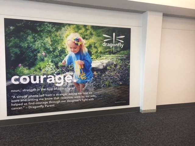 CVG Ad in American Airlines Terminal