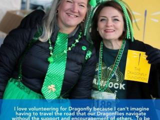 Anne Petersen & Julie Shaffer, Volunteers