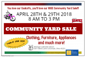 Nomad Sister's 2018 Community Yard Sale