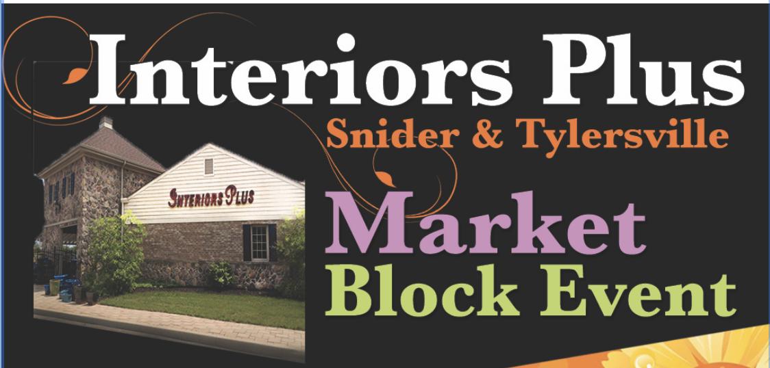 Interiors Plus Market Block Event