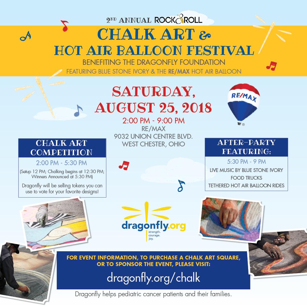Rock & Roll Chalk Art & Hot Air Balloon Fest