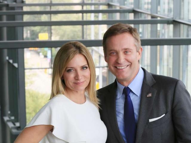 Melissa & Mark Matson, VP & CEO of Matson Money (Respectively)