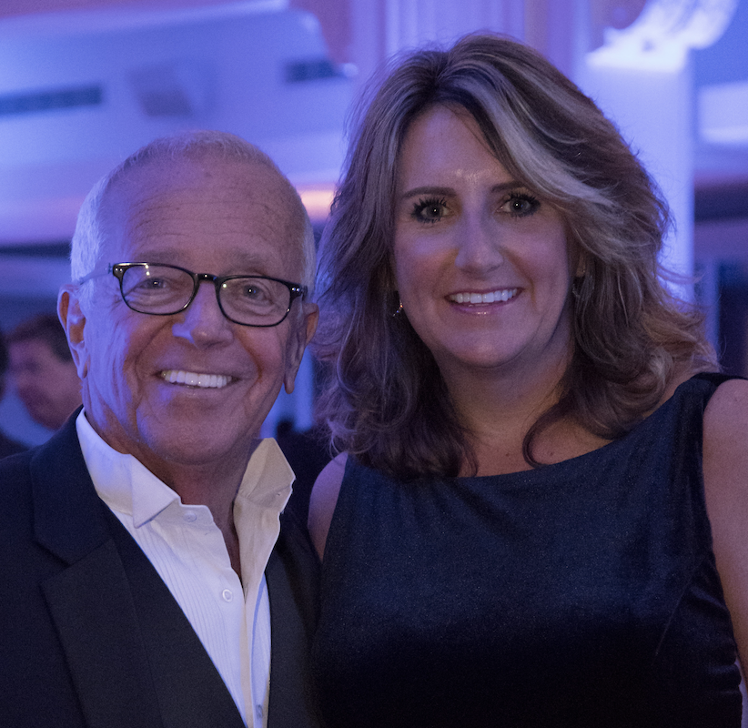 Marty Brennaman (& His Wife Amanda), Cincinnati Reds Broadcasting Legend