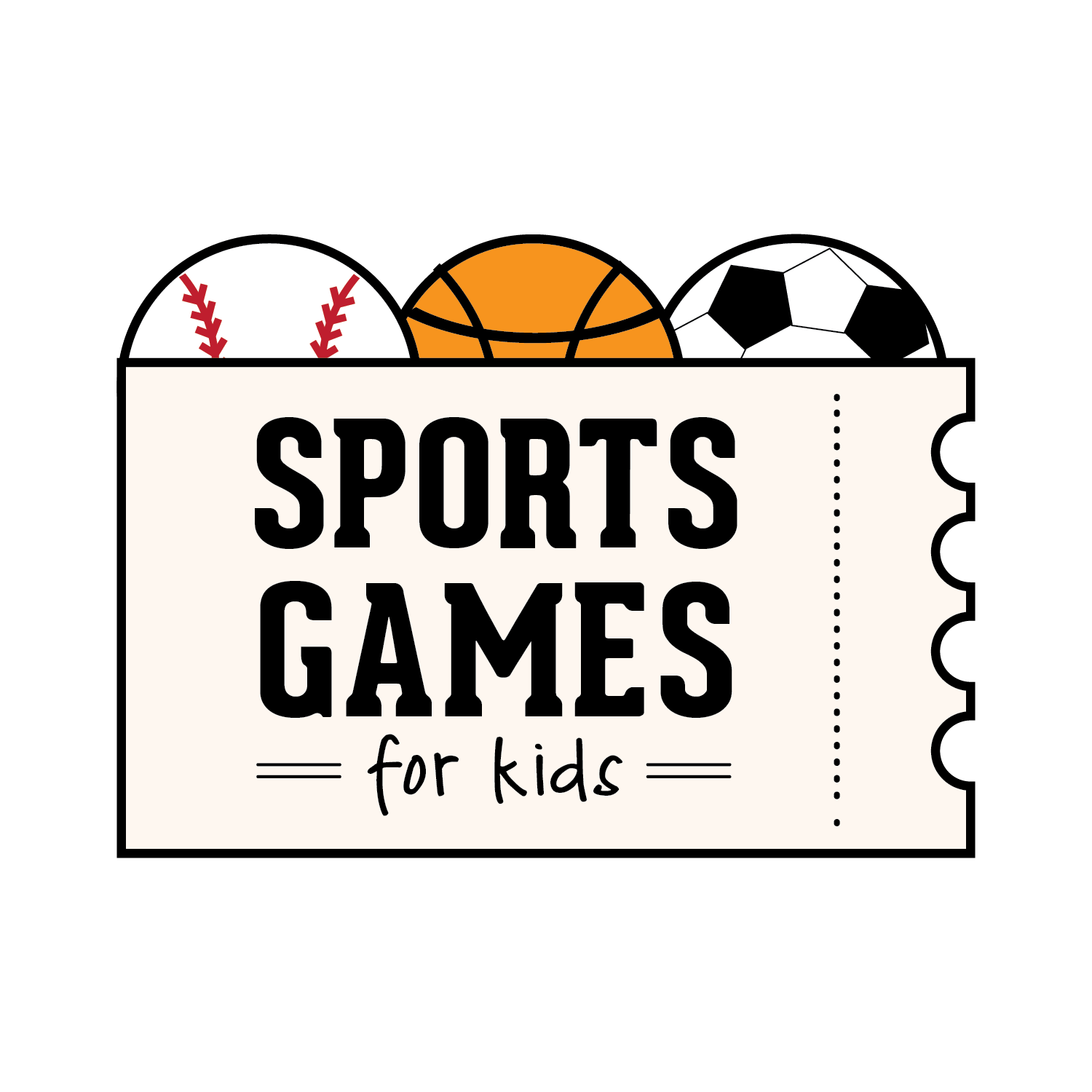 Sports Games for Kids Logo