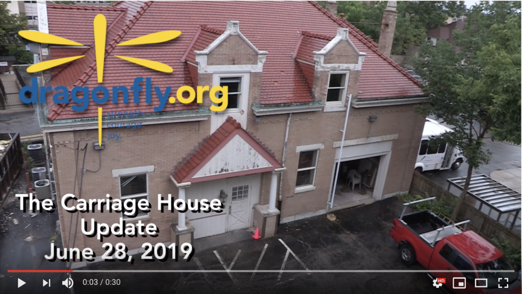 Carriage House Update June 2019
